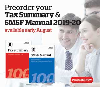 Tax Summary 2019-20 now available for preorder