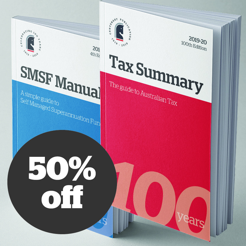 Bundle 2019-20 Tax Summary And SMSF Manual