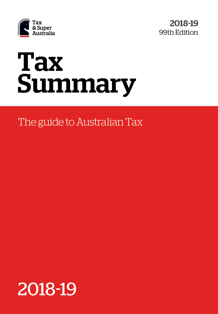 tax summary 2017-18