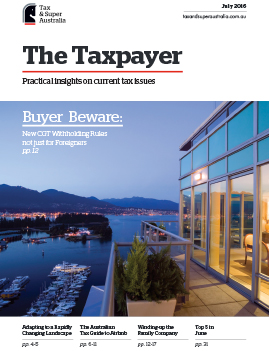 The Taxpayer journal