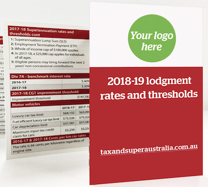 Branded Lodgment Rates And Thresholds Pocket Guide